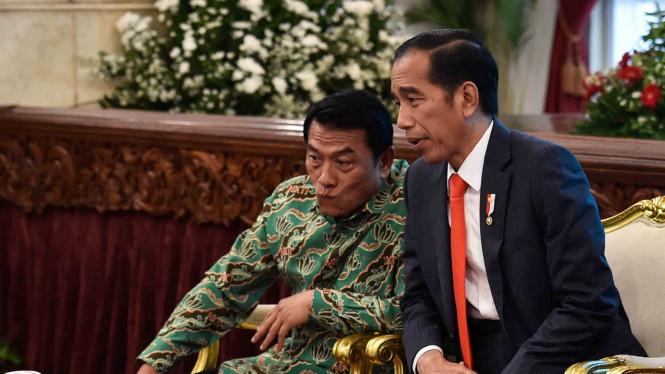 Jokowi Diprediksi Bakal Pilih Moeldoko Jadi Cawapres