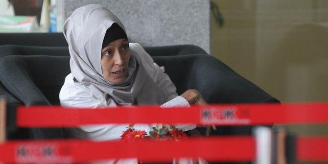 KPK Periksa Adik Inneke Koesherawati Terkait Kasus Lapas Sukamiskin