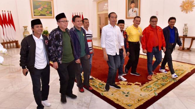 Koalisi Jokowi Akan Melakukan Pertemuan Kembali Malam Ini