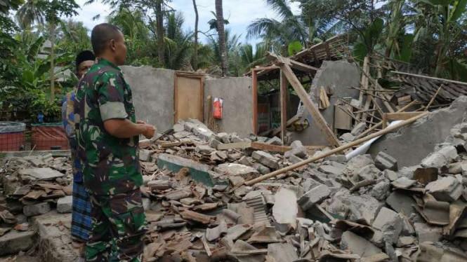 Lombok Sekali Lagi Diterjang Gempa