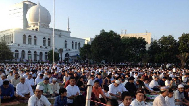 Masjid Agung Al Azhar Gelar Shalat Idul Adha Hari Ini