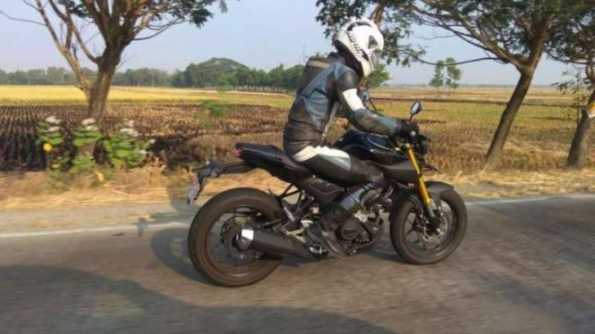 Motor 150cc Terbaru Yamaha Indonesia Diuji Coba di Jalanan