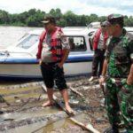 Polisi Amankan Kapal Bermuatan Kayu Ilegal Di Riau