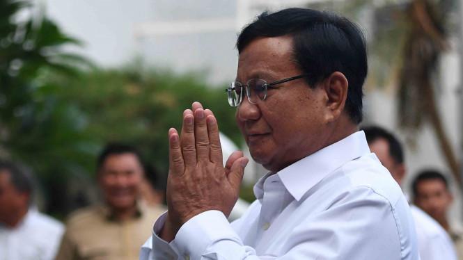 Prabowo Minta Restu Kepada Jusuf Kalla