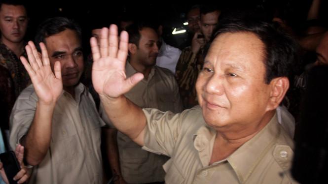 Prabowo Senang Mendapat Dukungan dari Tommy