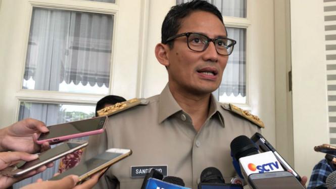 Sandi Jelaskan Isu Dirinya Mundur dari Jabatan Wagub Jakarta