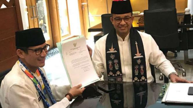 Sandiaga Uno Resmi Mundur dari Jabatan Wagub Jakarta