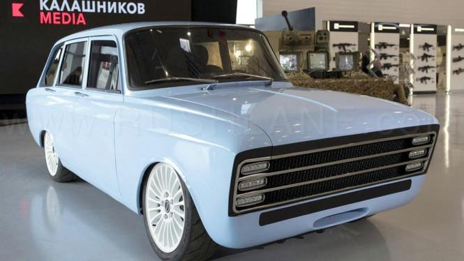 Sebuah Perusahaan Senjata asal Rusia Membuat Mobil Listrik