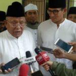 Kiai Syukron Berikan Nasihat Kepada Prabowo serta Sandi