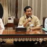 Prabowo Mengatakan Pertemuan dengan Kwik Kian Gie Bahas Ekonomi