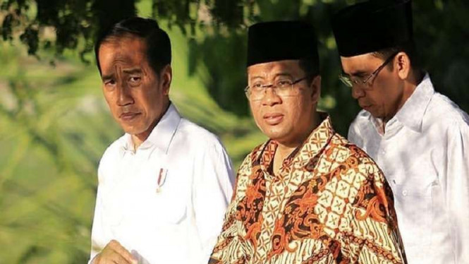 TGB Mengatakan Gubernur NTB Baru Bakal Mendukung Jokowi