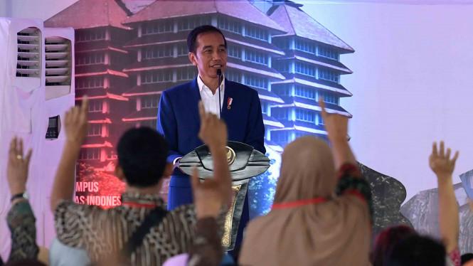 Hari Ini Jokowi Akan Datang ke Rakernas IWAPI di Padang