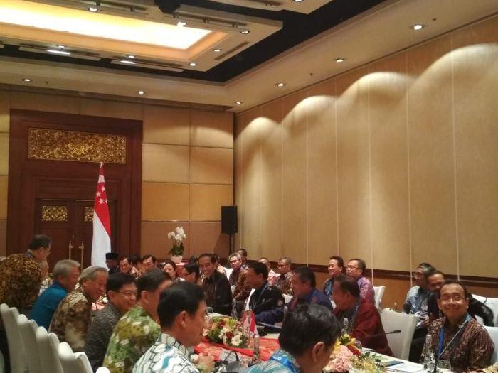 Jokowi Rampungkan Kerjasama Bidang Investasi Dengan Singapura.
