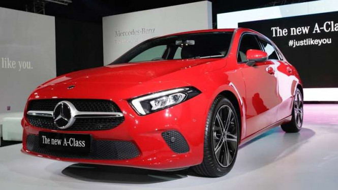 Mobil Paling Murah Mercedes Bakal Dirakit di Tanah Air