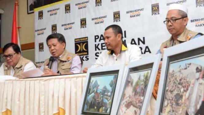 PKS Menyebutkan Bencana Alam di Sulawesi Tengah Harus Lebih Diutamakan