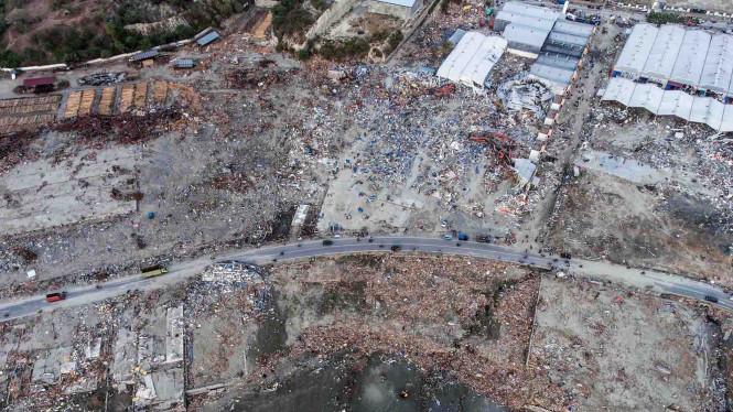 PMI Mencatat Tujuh Kecamatan di Palu Belum Mendapatkan Bantuan