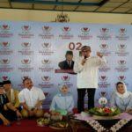 Pokso Kemenangan Prabowo-Sandi di DIY Diresmikan
