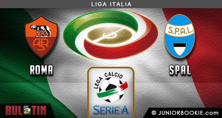 Prediksi AS Roma vs SPAL