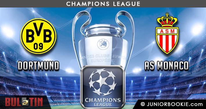 Prediksi Dortmund vs AS Monaco