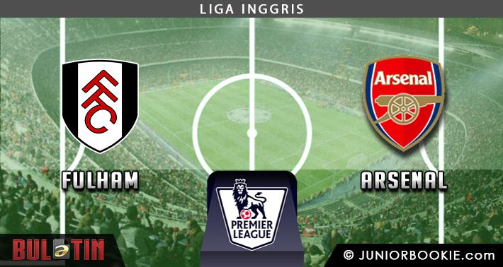 Prediksi Fulham vs Arsenal