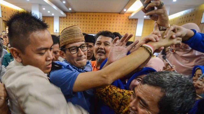 Sandiaga Uno Akan Kunjungi Sumatera Bersama PAN