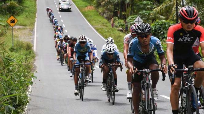 Tour de Singkarak 2018 Bertema One Decade For All