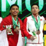 Eko Yuli Berhasil Kalahkan Dua Atlet China