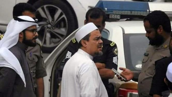Habib Rizieq Memberikan Tanggapan Tentang Penangkapannya