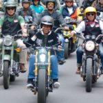 Jokowi Gunakan Motor Custom W175 Saat Touring Di Bandung