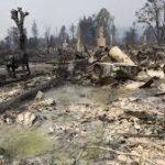 Kebakaran California Mengakibatkan Kota Harus Dibangun Ulang