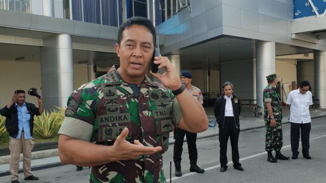 Letjen Andika Perkasa Dipercaya Jokowi Jadi KSAD
