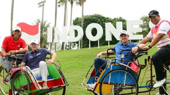 Pegolf No 1 Dunia Ikuti Kejuaraan Di Indonesia