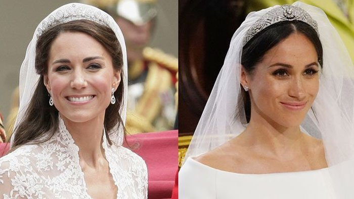 Perbedaan Sosok Kate Middleton Dan Meghan Markle