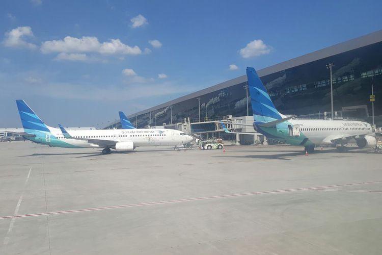 Pesawat Garuda Sempat Tergelincir Di Adisucipto Karena Basah
