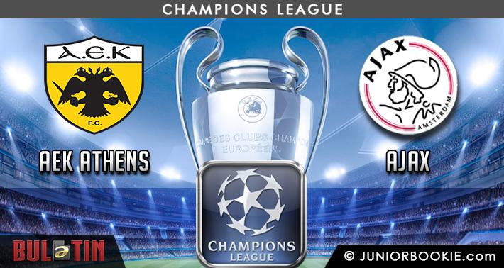 Prediksi AEK Athens vs Ajax
