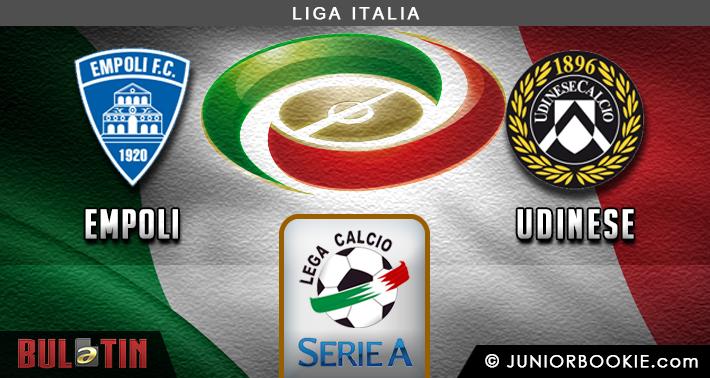 Prediksi Empoli vs Udinese