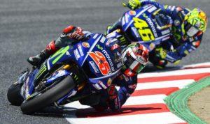 Rossi Dan Vinales Bersaing Untuk Mendapatkan Yang Terbaik