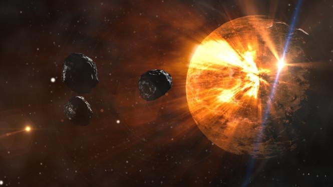 Tiga Asteroid Raksasa Akan Mendekati Bumi