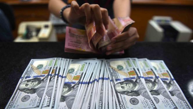Tukar Rupiah Terhadap Dolar Menguat 40 Poin