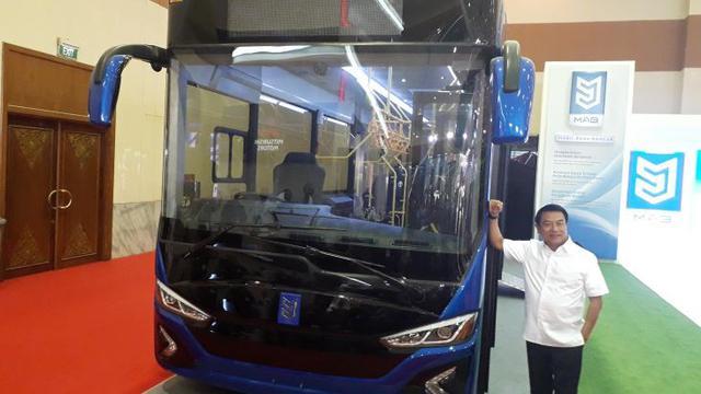 Bus Listrik Buatan Anak Bangsa Telah Banyak Menerima Pesanan
