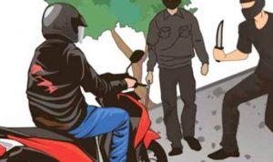 Seorang Polisi Dibegal dan Sepeda Motornya Raib