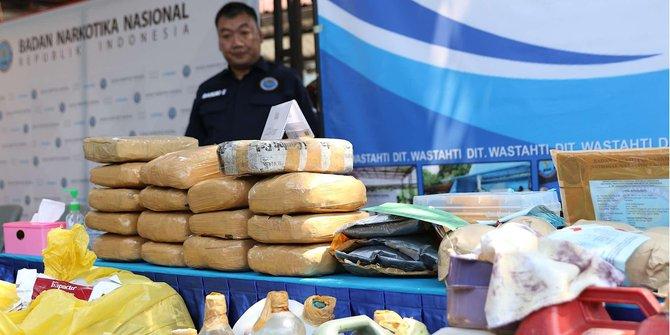 BNN Berhasil Gagalkan Penyelundupan 72 Kilogram Narkoba Dari Malaysia