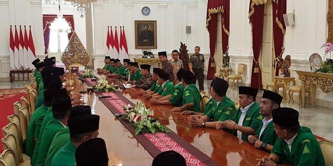 GP Ansor Lapor Jokowi Ada Kelompok Radikal Gabung Kontestan Pemilu
