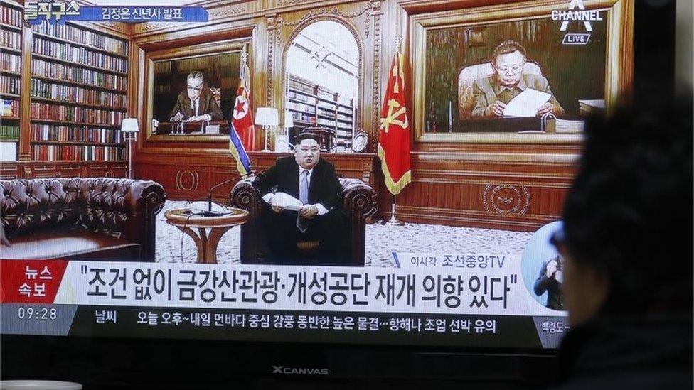 Kim Jong un Mengancam Pembatalan Denuklirisasi