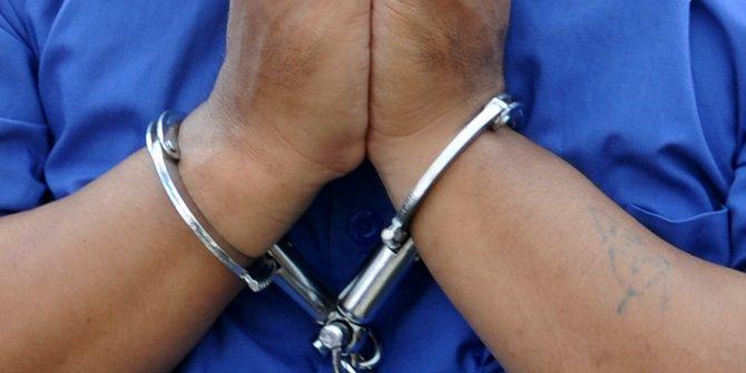 Lakukan Transaksi Narkoba Seorang Kepala Desa Di Serang Ditangkap Polisi