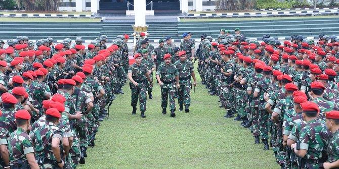 Marsekal TNI Hadi Tjahjanto Minta Kopassus Untuk Menjaga NKRI