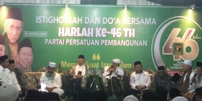 PPP Jateng Tegaskan Solid Dukung Jokowi