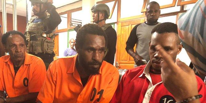 Penyuplai Senjata KKB Papua Divonis 2 Tahun 6 Bulan Penjara