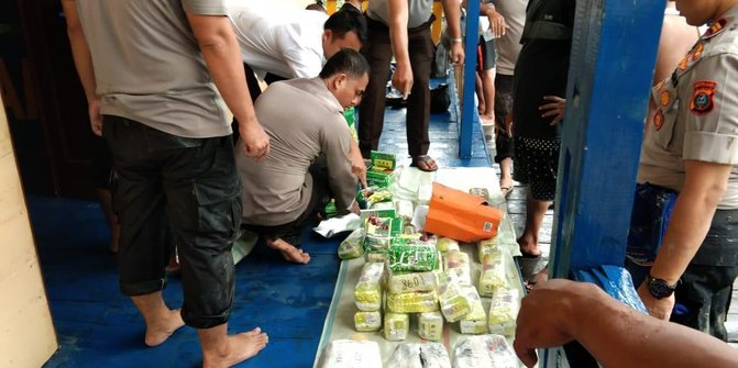 Polisi Sita 50 Kg Sabu Yang Dikubur Dalam Lumpur