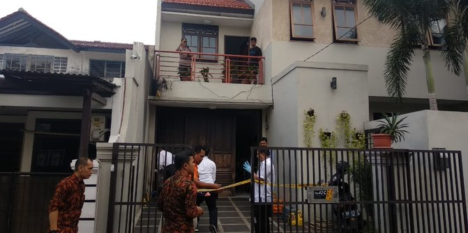 Rumah Wakil Ketua KPK Dijaga Polisi Pasca Teror Molotov